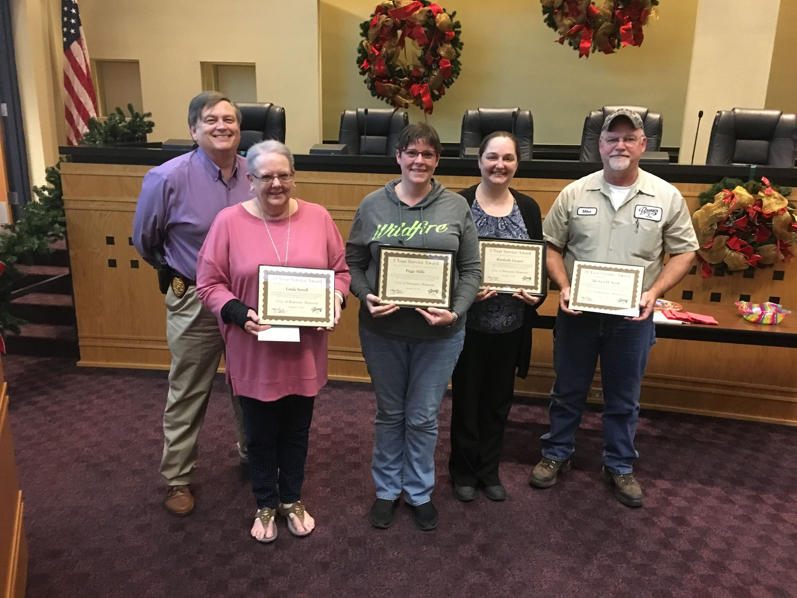 December Employee Recognition