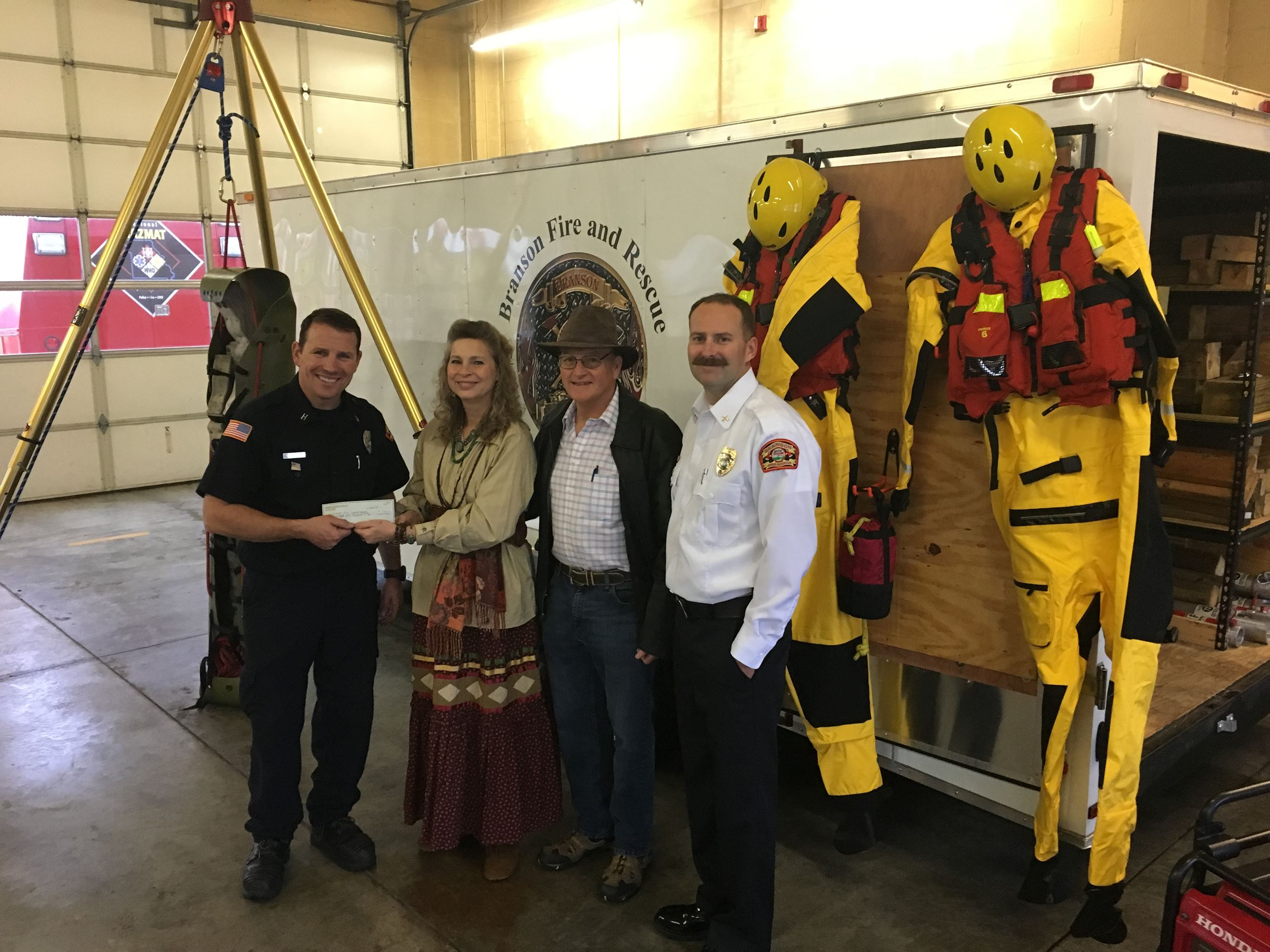 Technical Rescue Program Donation