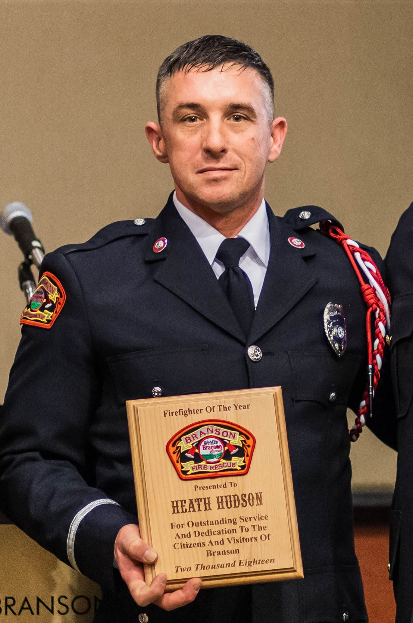 Firefighter of the year 2018