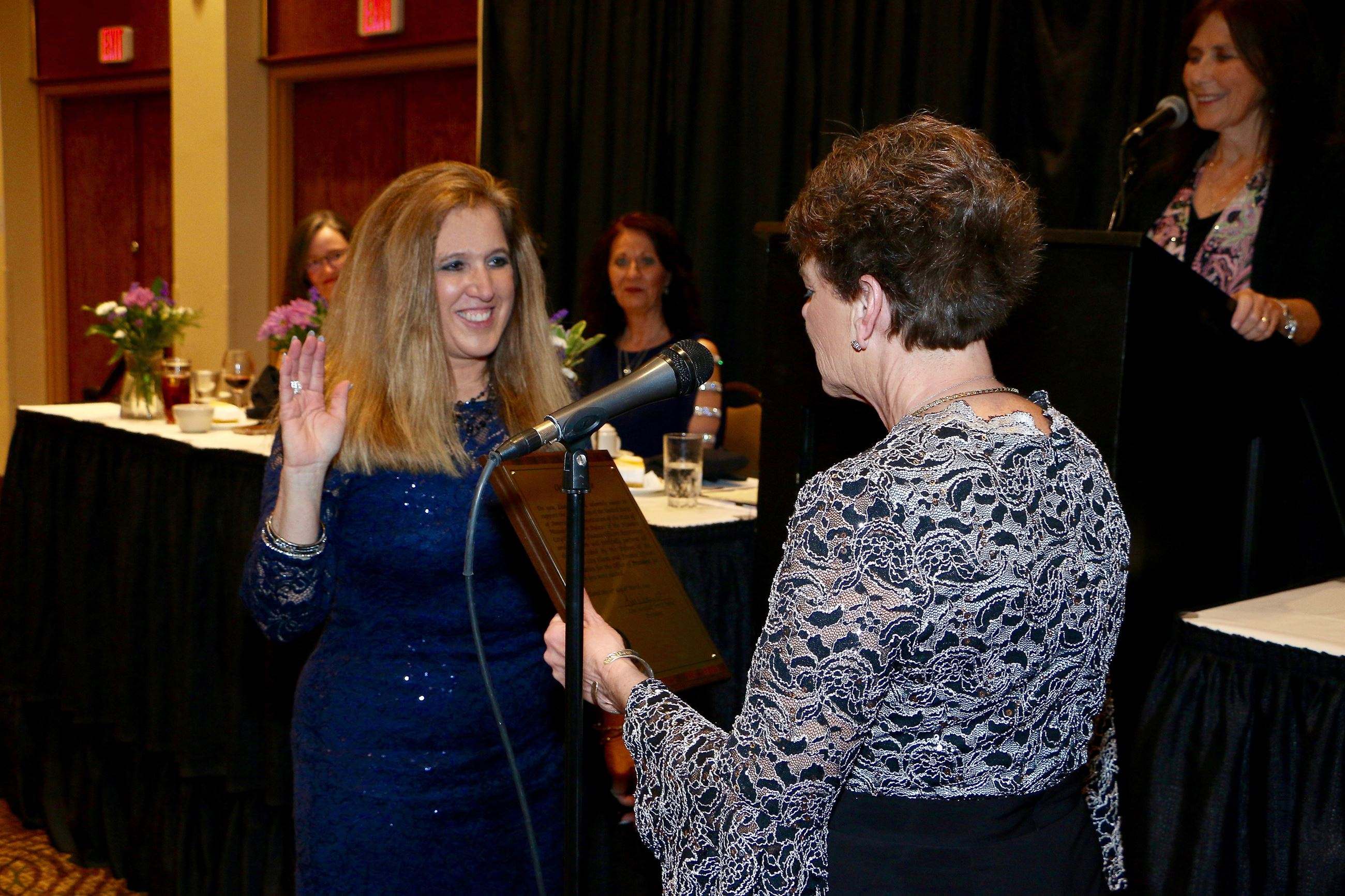 Lisa Westfall sworn in as MoCCFOA President
