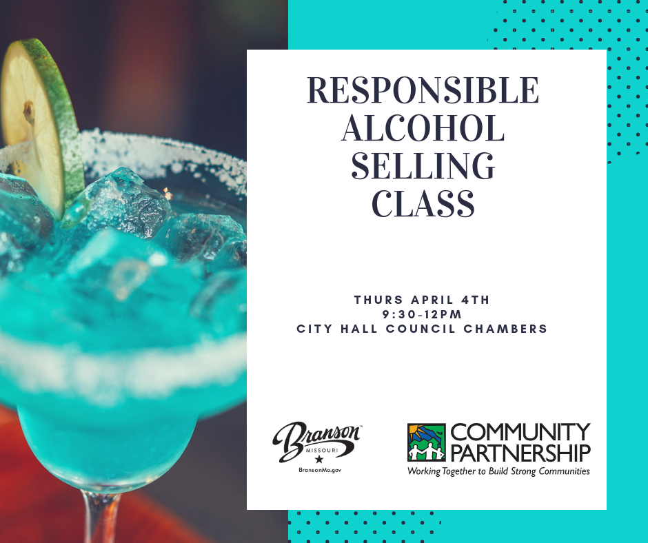Responsible alcohol selling class