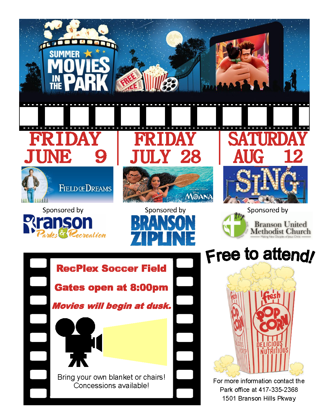 Movie in the Park 2017